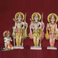 Marble Ram Darbar Statue 07