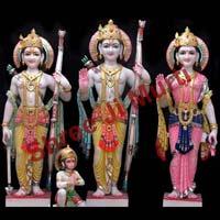 Marble Ram Darbar Statue 08
