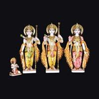 Marble Ram Darbar Statue 10