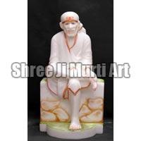 Marble Sai Baba Statue 03