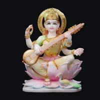 Marble Saraswati Statue 10