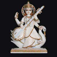 Marble Saraswati Statue 13