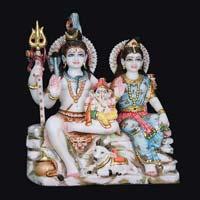 Marble Shiva Parvati Statue 10