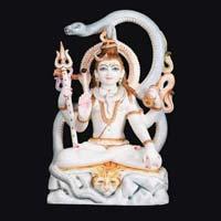 Marble Shiva Statue 03