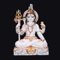 Marble Shiva Statue 11