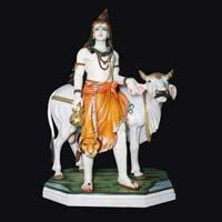 Marble Shiva Statue 14