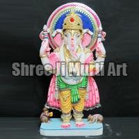 White Marble Ganesh Statue 05