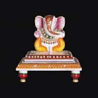 White Marble Ganesh Statue 11