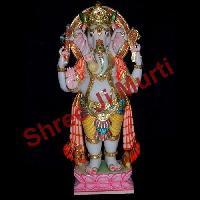 White Marble Ganesh Statue 15