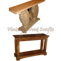 Classic Look Wooden Console Table