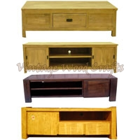 Contemporary Wooden TV Unit