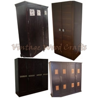 Contemporary Wooden Wardrobe