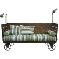 Industrial Mobile Sofa