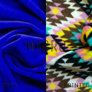 Polyester Micro Dyed And Printed Fabric
