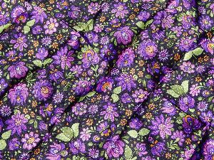 Polyester Russian Dyed And Printed Fabric