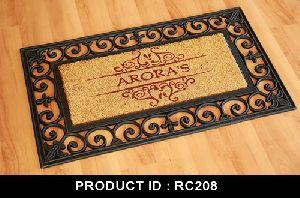 RC208 Rubberized Doormats