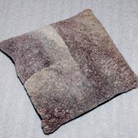 Areezo Big Block Sheep Hide Cushion (Greg)