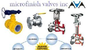 Microfinish Valves