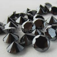 Round Black Diamonds