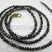 Black Diamond Beads Necklace