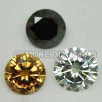 moissanite loose diamonds fancy colors