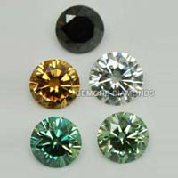 Colored Moissanite Gemstones