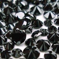 Round Black Diamonds