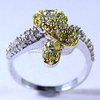 Stylish Rough Diamond Rings