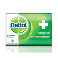 Dettol Green Soap Wrapper