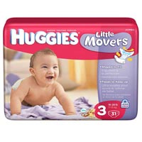 Huggies Packaging Pouch