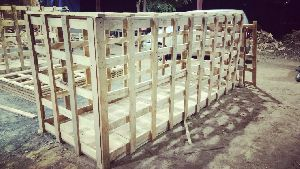 Pine Wooden Cages