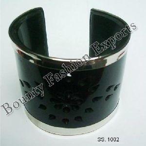 Black Horn Cuff Bracelets