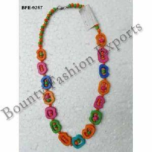 Long Bone Bead Necklaces