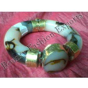 Resin Brass Bangles