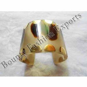Resin Brass Cuff Bracelets