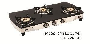 PA 3002 - Crystal (Curve) 3BR Glassttop