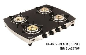 PA 4005-Black (Curve) 4BR Glasstop