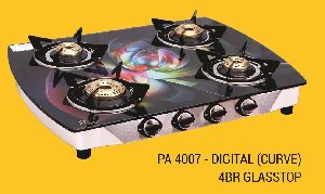 PA 4007 - Digital (Curve) 4BR Glasstop