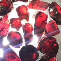Rough Garnet Gemstone
