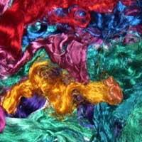 Recycled Silk Fibers 01
