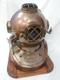 Antique Diving Helmet 04