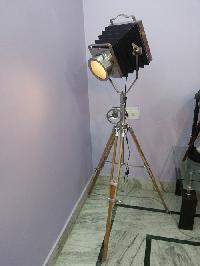 Antique Spotlight Floor Lamp 01