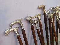 Antique Wooden Walking Stick 01