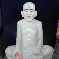 Marble Gajanan Maharaj Statues