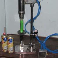 Pneumatic Deodorant Bottle Crimping Machine