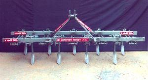 Spring Loaded 9 Tine Tiller