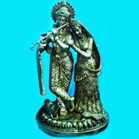 Brass God Statue 01