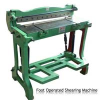 Shearing Machine Foot Operated