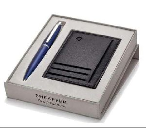 Sheaffer Credit Card Holder With Pen