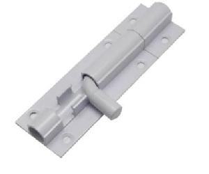 Aluminium Plain Tower Bolts With Iron Rod (008)